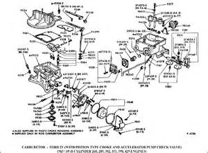 motorcraft 2150 carburetor identification