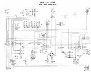 1977 fiat 124 spider wiring diagram