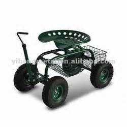 Garden Work Seat With Wheels Gobebaba