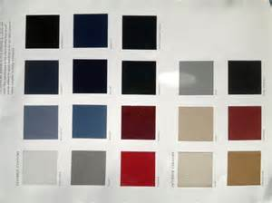 Seat Car Colour Chart Gobebaba